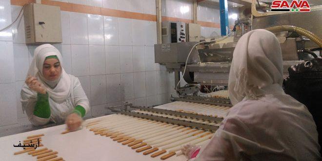 نحو 50 منشأة صناعية متخصصة بالمنظفات والأغذية والأدوية تعمل لتأمين احتياجات المواطنين بدرعا