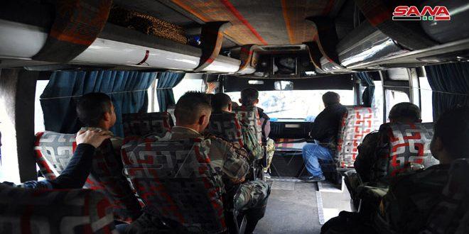 محافظة دمشق: تسيير 100 وسيلة نقل لتأمين العسكريين إلى محافظات عدة