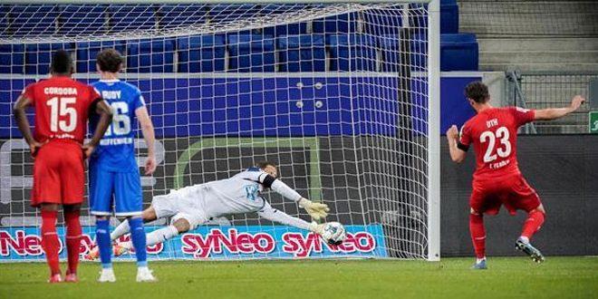 هوفنهايم يعود للمنافسة على التأهل لأوروبا بفوزه على كولونيا