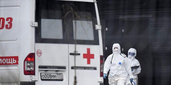 موسكو تسجل 71 وفاة جديدة جراء فيروس كورونا