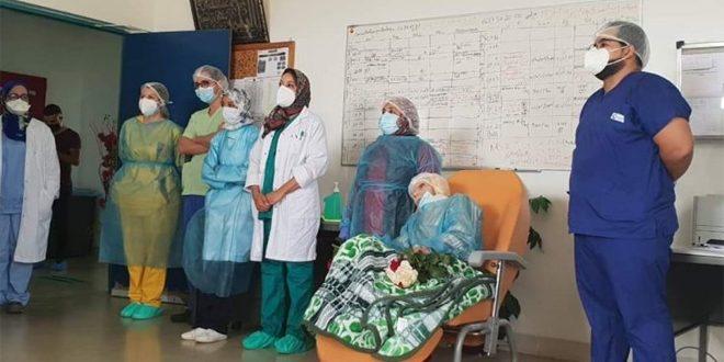 شفاء معمرة مغربية تناهز الـ 110 أعوام من فيروس كورونا