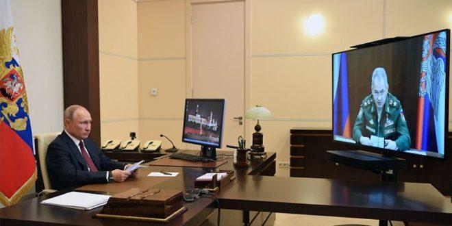 بيسكوف: اجتماعات الرئيس بوتين ستستمر عن بعد
