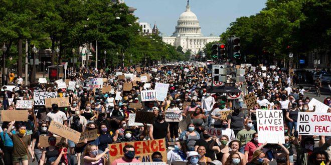 ترامب يهدد المتظاهرين باستخدام القوة القصوى والاحتجاجات تتواصل في العديد من المدن والولايات الأميركية