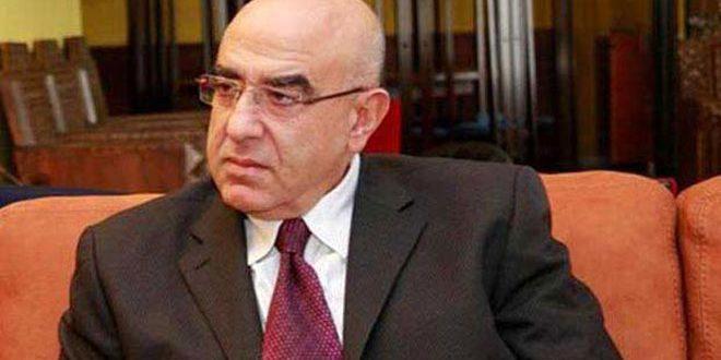 حمدان يندد بالإجراءات القسرية الأمريكية ضد سورية