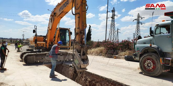 بكلفة 65 مليون ليرة تنفيذ مشروع للصرف الصحي في حلب