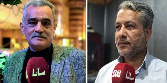 سياسيون وإعلاميون عراقيون: الإجراءات القسرية الأمريكية والغربية ضد سورية جريمة ضد الإنسانية