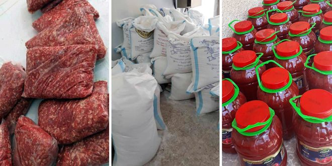 تنظيم ضبوط تموينية بحق فعاليات تجارية مخالفة في حمص