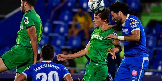 فوز خيتافي على ريال سوسيداد بالدوري الإسباني لكرة القدم