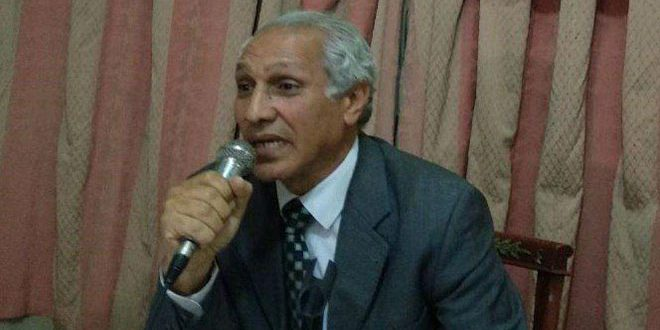 سياسي مصري يدين الإجراءات القسرية الأمريكية المفروضة على سورية