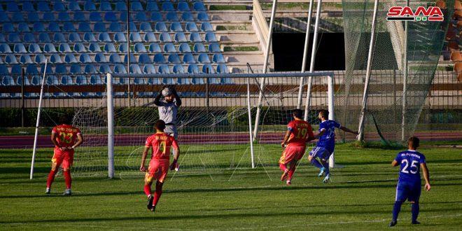 فوز تشرين والوثبة على الفتوة والطليعة في الدوري الممتاز لكرة القدم