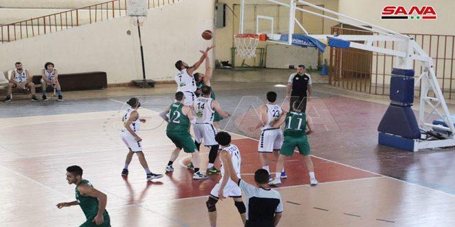 الثورة والحرية يتأهلان إلى الدور ربع النهائي من دوري كرة السلة