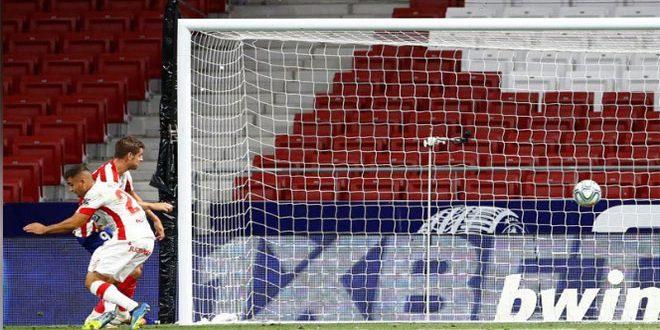 أتليتيكو مدريد يتغلب على مايوركا بثلاثية في الدوري الإسباني