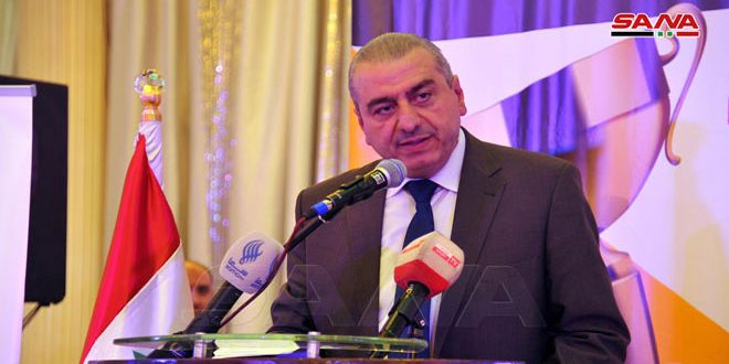 ناصر: الإعلام الرياضي يقدم رسالة صادقة وصورة واضحة خدمة لمسيرة الرياضة السورية بمفاصلها كافة