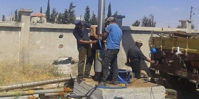 مؤسسة مياه حمص تنفذ مشاريع بتكلفة 7ر1 مليار ليرة منذ بداية العام