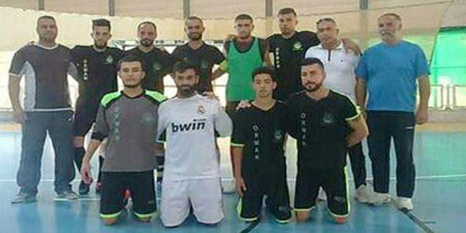 فريق عرمان يتطلع لتحقيق نتائج جيدة في دوري الدرجة الأولى بكرة القدم للصالات المغلقة