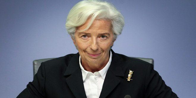 لاغارد: الأزمة الاقتصادية التي تسبب بها تفشي كورونا ستدخل تحولات عميقة في الاقتصاد العالمي
