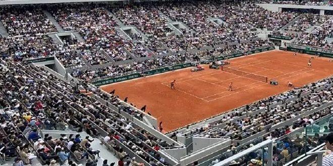 عودة الجماهير إلى بطولة فرنسا المفتوحة لكرة المضرب