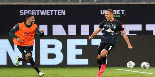 بريمن يبقى في الدوري الألماني لكرة القدم