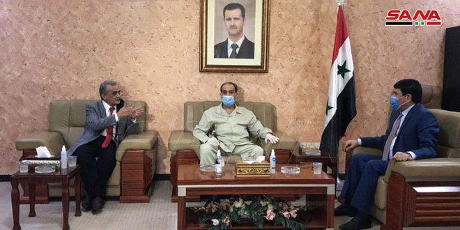 وفود حزبية وشعبية عراقية تزور سفارة سورية: نقف إلى جانب سورية ضد ما يسمى قانون قيصر