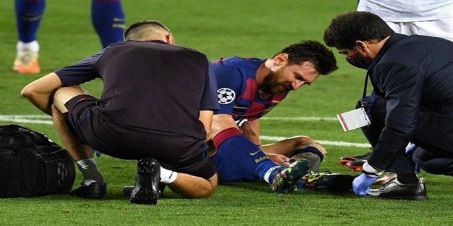 برشلونة: إصابة ميسي ليست خطيرة