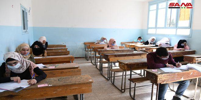 آراء طلاب مركز الاستضافة في جديدة يابوس والزبداني بامتحانات شهادة التعليم الأساسي والإعدادية الشرعية