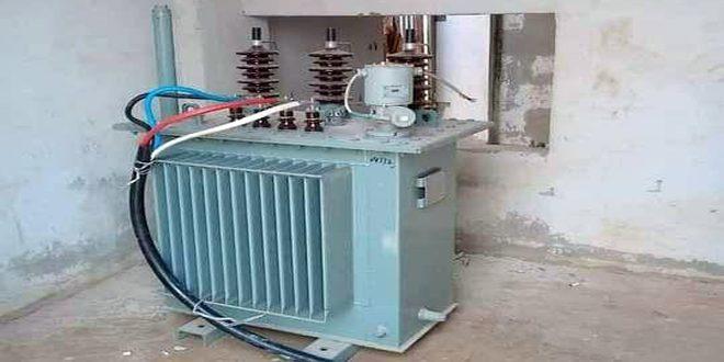 شركة كهرباء حماة: تركيب ثلاث محولات كهربائية في مدينتي حلفايا وطيبة الإمام