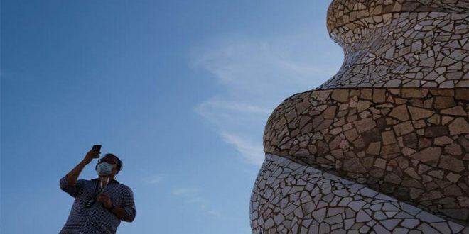 تراجع عدد السياح القادمين لإسبانيا 98 بالمئة في حزيران الماضي