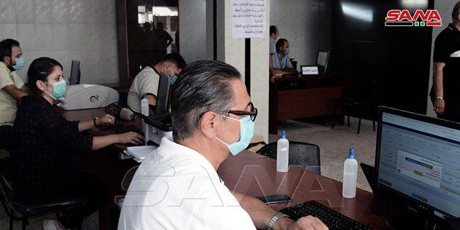 افتتاح دائرة نقل جديدة في مركز مدينة الحفة باللاذقية