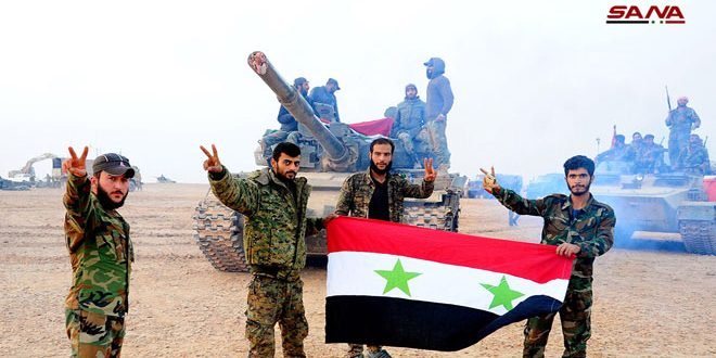 حزب مصر العربي: الجيش السوري حطم الغطرسة الأمريكية بانتصاراته