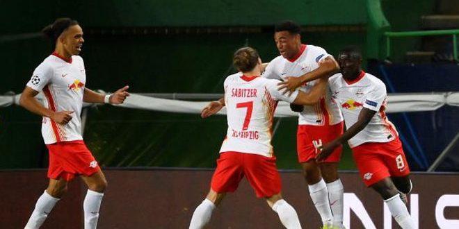 لايبزيغ يهزم أتلتيكو ويتأهل لنصف نهائي دوري أبطال أوروبا