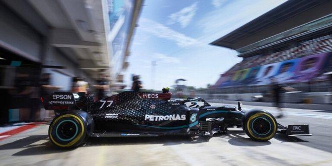 الفنلندي بوتاس يتصدر التجارب الأولى لسباق جائزة إسبانيا للفورمولا واحد