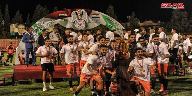 فريق الوحدة يحرز لقب كأس الجمهورية لكرة القدم للمرة الثامنة في تاريخه