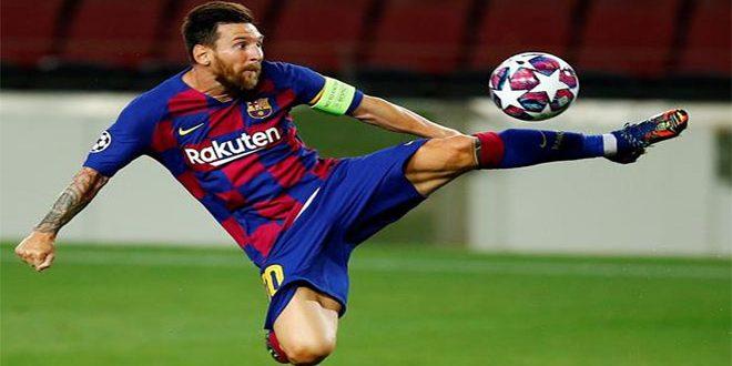 برشلونة يفوز على نابولي ويبلغ ربع نهائي دوري أبطال أوروبا لكرة القدم
