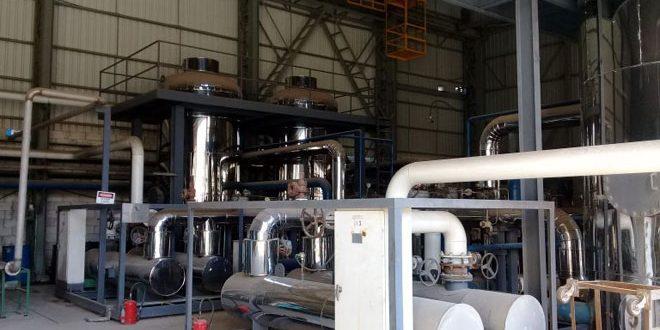 شركة حديد حماة مستعدة لتزويد المشافي والمواطنين بغاز الأوكسجين النقي