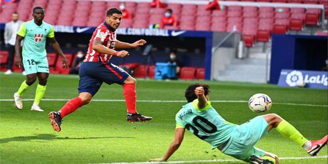 أتلتيكو مدريد يفوز على غرناطة في الدوري الإسباني