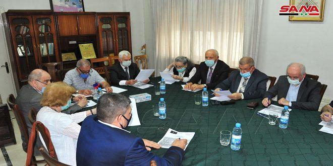 لجنة دعم الشعب الفلسطيني تجدد الدعوة لحشد الجهود للتصدي للمشاريع الصهيوأمريكية في المنطقة