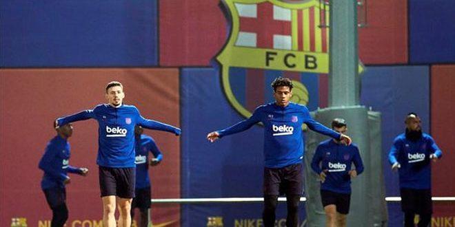 مدافع برشلونة توديبو يعلن رحيله خلال فترة الانتقالات الصيفية الجارية