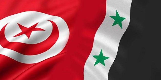 تونسيون يطالبون بإعادة العلاقات مع سورية وكسر الحصار