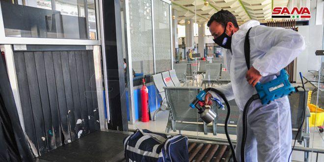 الانتهاء من تحضيرات إعادة افتتاح مطار دمشق الدولي في الأول من تشرين الأول القادم
