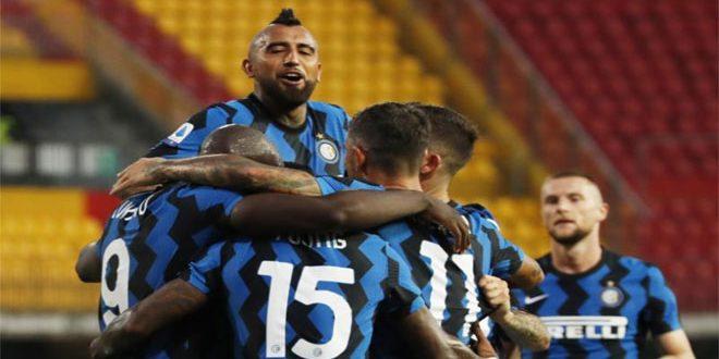 إنتر ميلانو يفوز على بنيفنتو في الدوري الإيطالي
