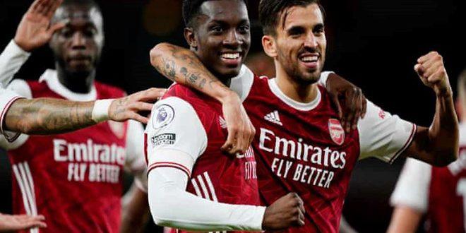 أرسنال يفوز على وست هام في الدوري الانكليزي الممتاز لكرة القدم