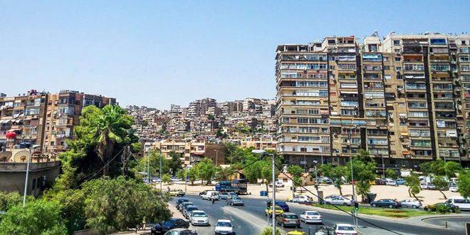 الجهات المختصة تفجر قنبلة في منطقة المزة بدمشق
