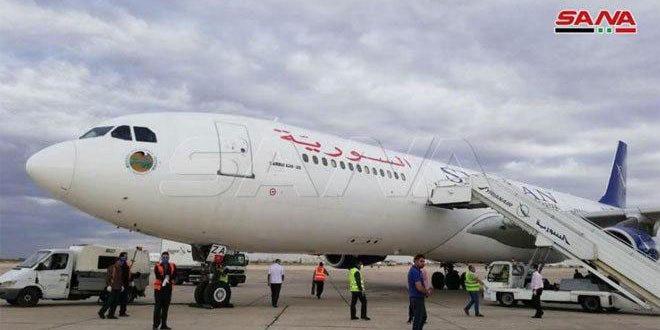 تسيير رحلة إضافية من مطار دمشق الدولي إلى الخرطوم