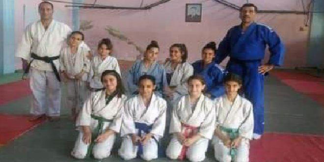 تدريبات مشتركة لناديي شرطة اللاذقية وطرطوس بالجودو للإناث