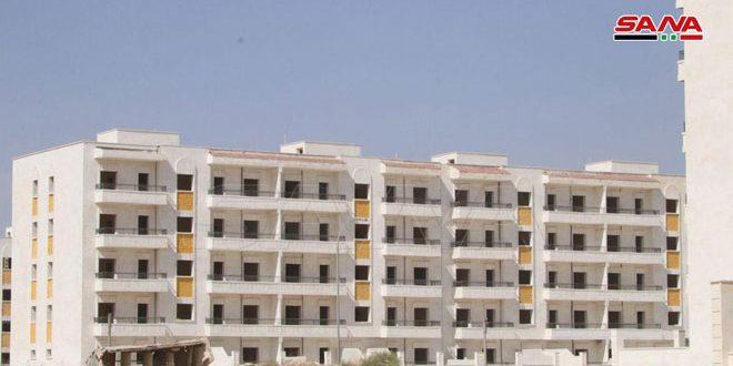 مؤسسة الإسكان بحلب ترصد 5300 مليار ليرة لترميم وتأهيل وإنجاز مشاريع السكن في المناطق المتضررة من الإرهاب