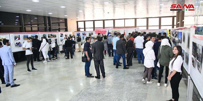 في ذكرى تأسيسها.. منظمة اتحاد شبيبة الثورة تقيم معرضاً فنياً بمكتبة الأسد الوطنية