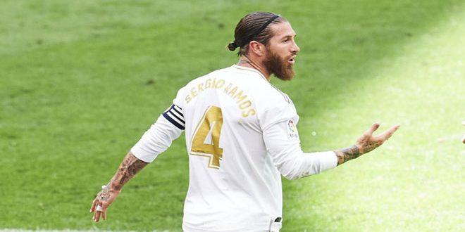 غياب راموس عن ريال مدريد في مواجهة شاختار الأوكراني