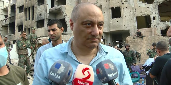 (لآخر العمر) يواصل عمليات التصوير.. الوزير سارة: الإعلام السوري الذي وقف إلى جانب جيشه يستحق أن يخلد بعمل سينمائي
