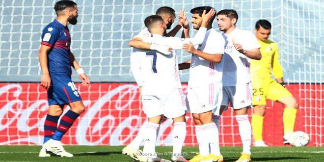 ريال مدريد يفوز على ويسكا في الدوري الإسباني