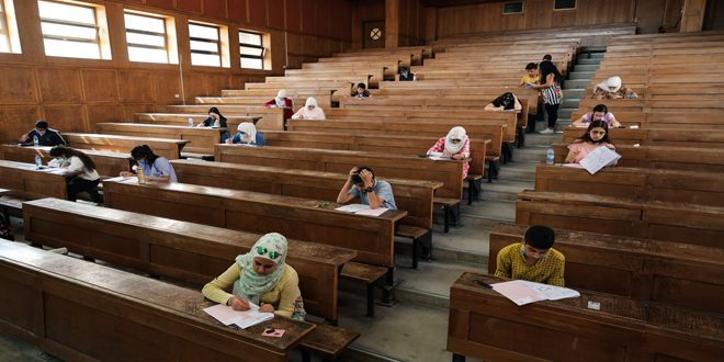 بمشاركة 6235 طالباً وطالبة… إجراء الجولة الثانية من اختبارات المرحلة الأولى من منافسات الأولمبياد العلمي السوري